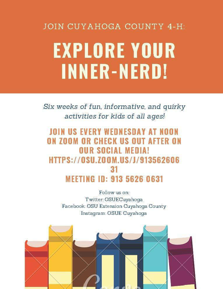 exploe your inner nerd