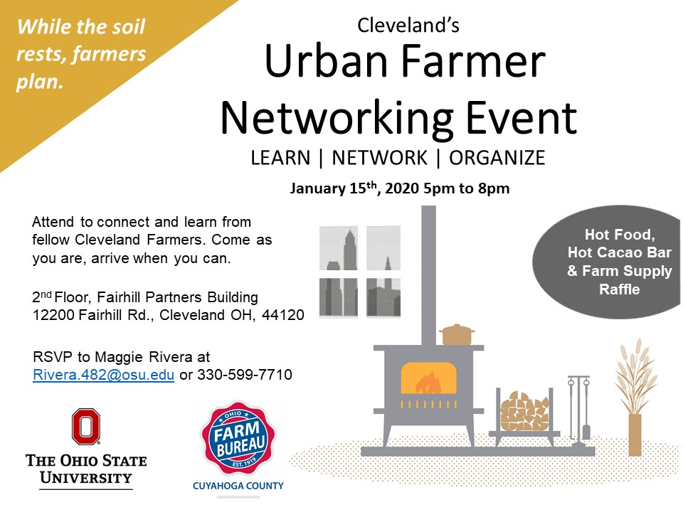 Cleveland Urban Farmer Networking Event
